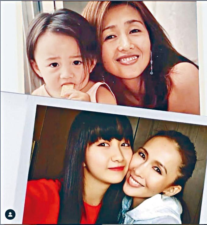 木村心美為品牌拍母親節短片,公開多張兒時溫馨照。