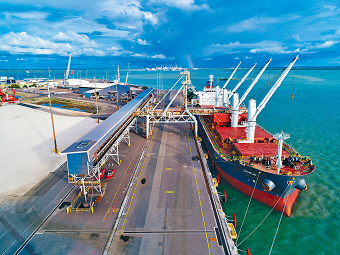 位於澳洲最北部的達爾文港。