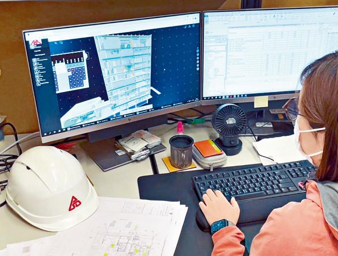 建築署採用BIM技術,電腦圖發展至三維,提升建築的可行性和可建性。