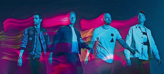 Coldplay昨日發布新曲,以太空為主題,更將新曲發送到太空站作首播。