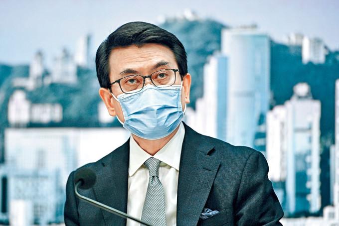 商經局局長邱騰華表示,港府下周再與新加坡商討安排。