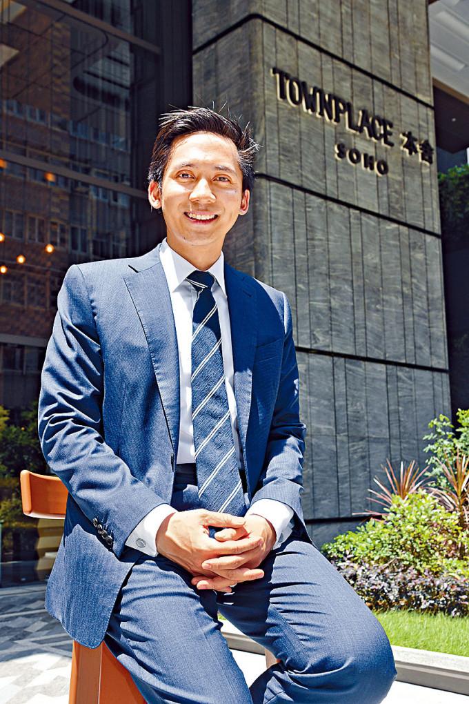 郭基泓說新地一直有研究入股創科項目,並有不少創科公司與他們見面,以地產科技為主。