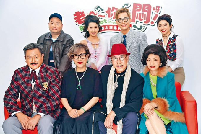 魏駿傑(前排左一)獲恩師張之珏(前排左三)力邀參演舞台劇。