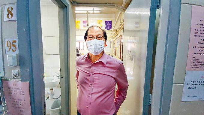朱醫師對五日內兩遭爆竊感無奈。