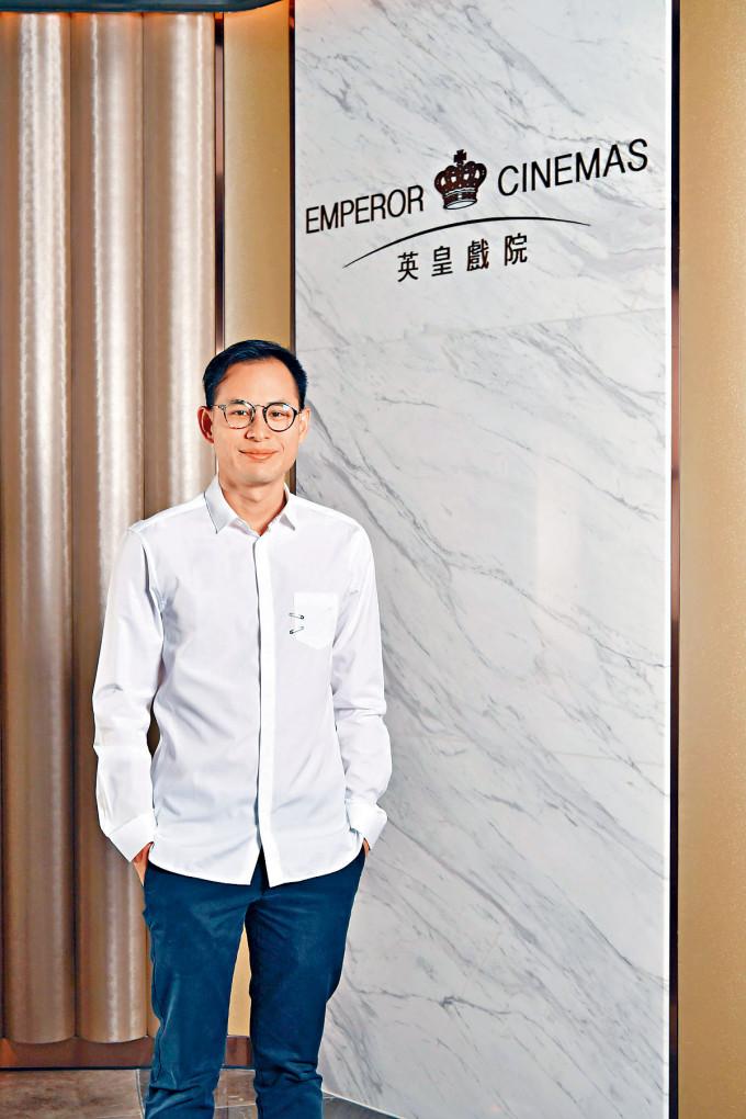 楊政龍首次任總策劃的作品《懸崖之上》即創下佳績,他謙稱榮幸能參與這部好電影。