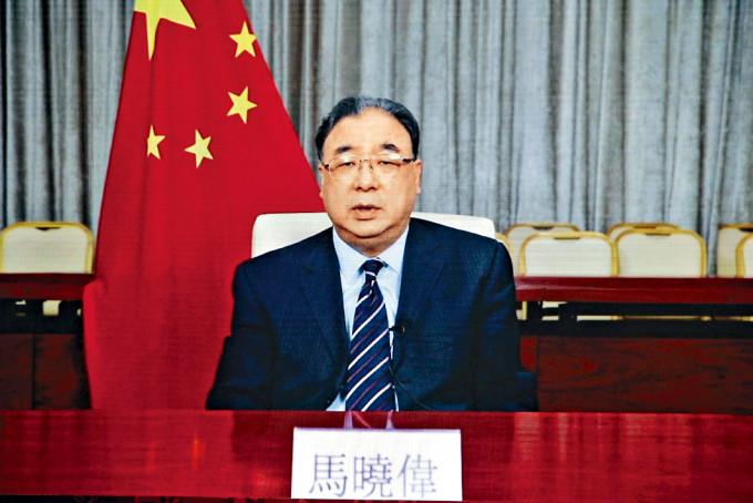 國家衞健委主任馬曉偉表示,中央期待香港早日清零。