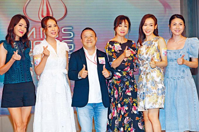 志偉今次邀得慧妍雅集眾位港姐前輩任導師,務求培育出高質素的港姐。