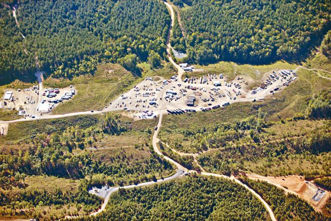 位於喬治亞州的Colonial Pipeline的燃油管道。