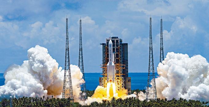 「天問一號」於去年七月發射。