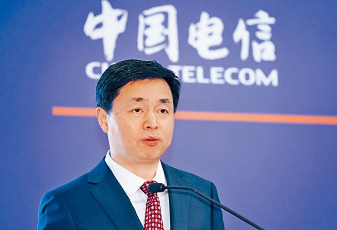 柯瑞文表示,中國證監會已接納中電信A股發行申請。