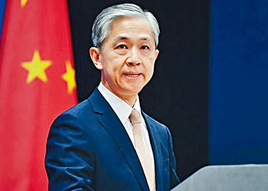 汪文斌批評G7粗暴干預中國內政。