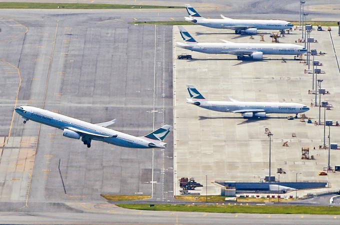 受到疫情嚴重打擊,國泰航空營運仍未見到曙光。