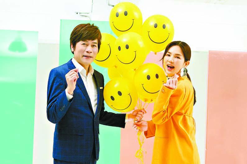 ■洪榮宏與Ella合作台語新歌 「惜你每一天」。 網上圖片