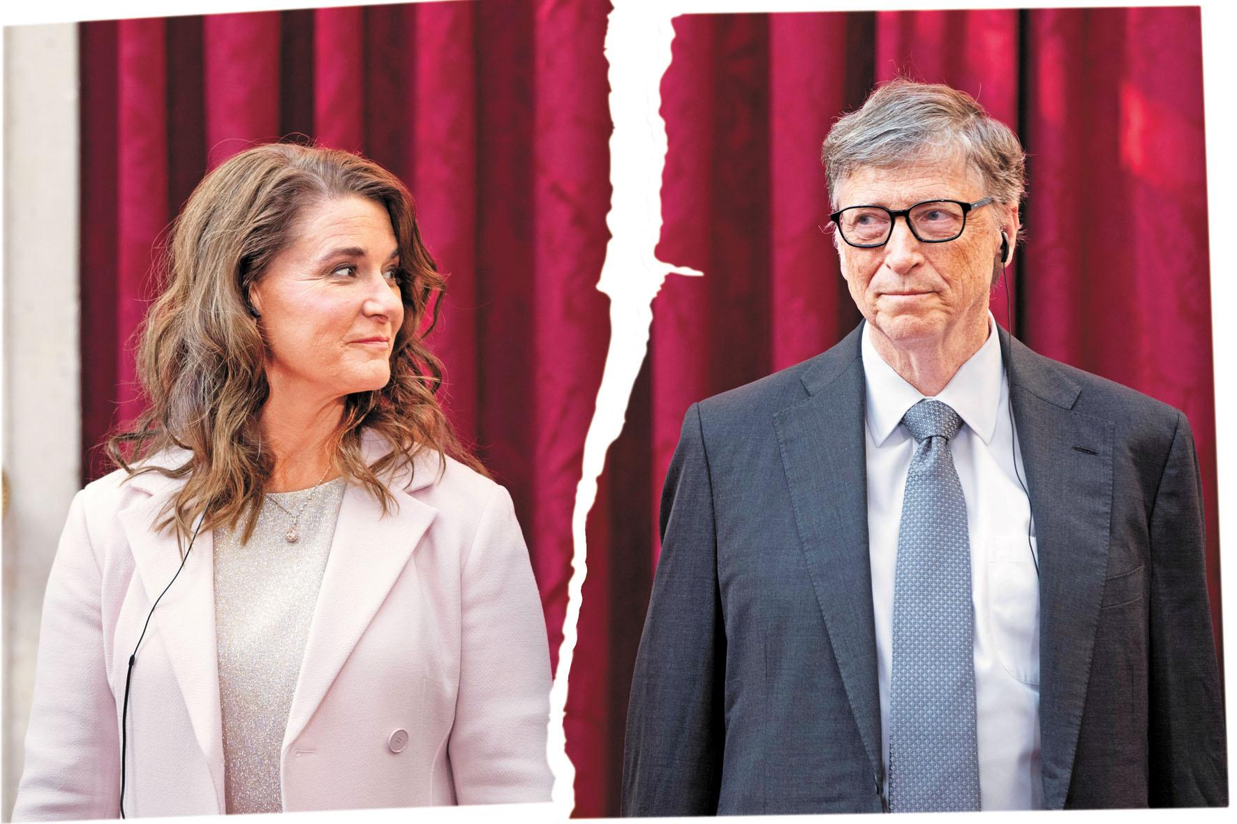 ■比爾蓋茨和梅琳達宣布結束27年的婚姻。資料圖片