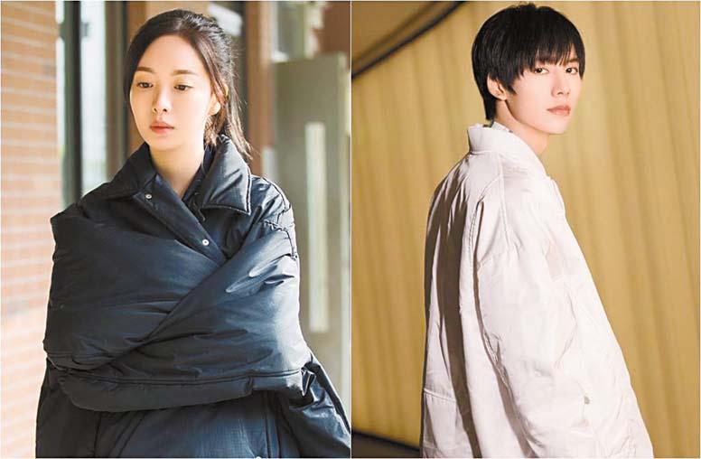 女星趙堯珂(左)發文怒斥鄧超元(右)的渣男行為。 網上圖片