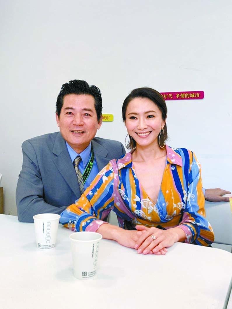 ■侯怡君與蕭大陸相愛20年,終於傳出結婚喜訊。 網上圖片