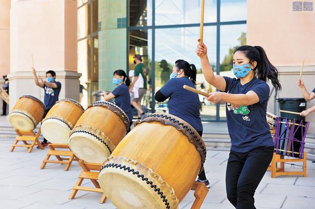 波羅阿多慶祝亞太裔傳統月系列活動,圖為太鼓表演。資料圖片