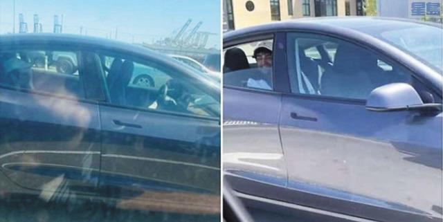 加州公路巡警正調查無人駕駛的特斯拉在公路奔馳的事件。加州公路巡警