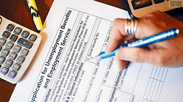 ■拜登政府1.9萬億元紓困案中每周提供300元失業津貼的做法,被指養懶人,有企業組織指出,不少人領取的失業福利比他們上班領取的工資還要高,因此失去工作興趣。    資料圖片