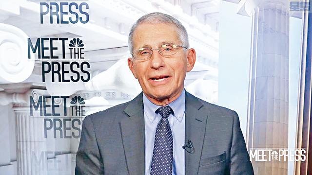 白宮首席醫療顧問福西在NBC節目上表示,對死亡人數可能嚴重低估,不感驚奇。華盛頓大學推算的數據,指死於新冠病毒的人數超過90萬。    電視屏幕截圖