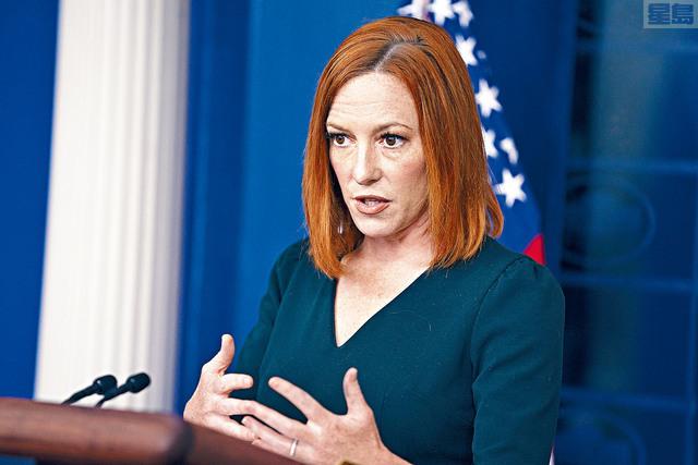 ■白宮發言人普薩基透露,將按照原定安排在1年後離職。美聯社