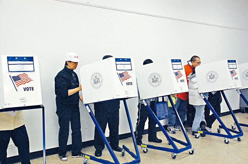 今日初選勿忘投票。資料圖片