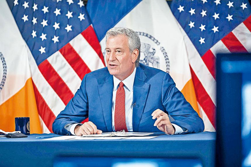白思豪宣布紐約將投資5億元建設生命科學產業。源自市府