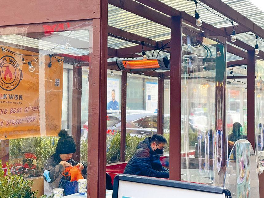 市餐飲酒店聯盟將舉辦在線論壇,與當局探討設置永久戶外餐廳項目。