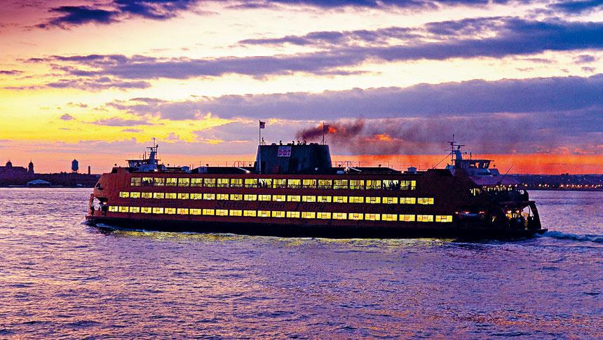 史丹頓島30分鐘一班的渡輪將從8月16日開始恢復全面服務。 圖片來自市長辦公室