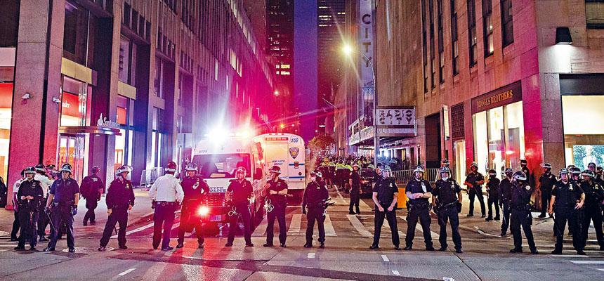 紐約市警務處被爆出驚人性醜聞。Demetrius Freeman/紐約時報