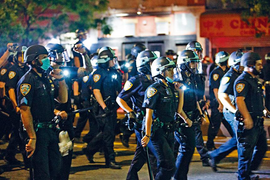 市警一直批評橫隔膜法內容含糊不清。                 Demetrius Freeman/紐約時報