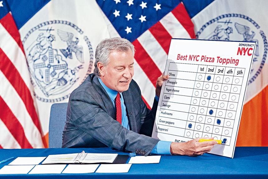 有消息人士透露,白思豪在幕後努力說服其他人支持亞當斯。市長辦公室圖片