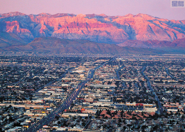 拉斯維加斯5月出租房屋價格正以全美最快速度攀升。美聯社
