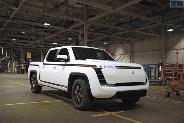 Lordstown Motors稍早前警告稱,可能沒有足夠的資金將其首款皮卡推向市場。資料圖片