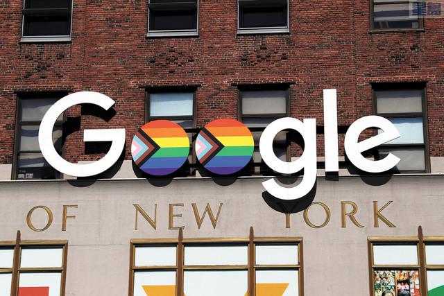 谷歌2020年獲利暴增17%至402.7億美元。資料圖片