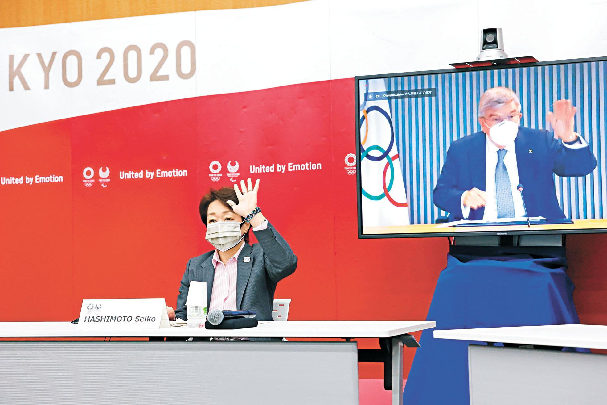 國際奧委會與日本政府等單位21日舉行東奧五方會談,決定開放觀眾入場觀賽,人數上限為一萬人。美聯社