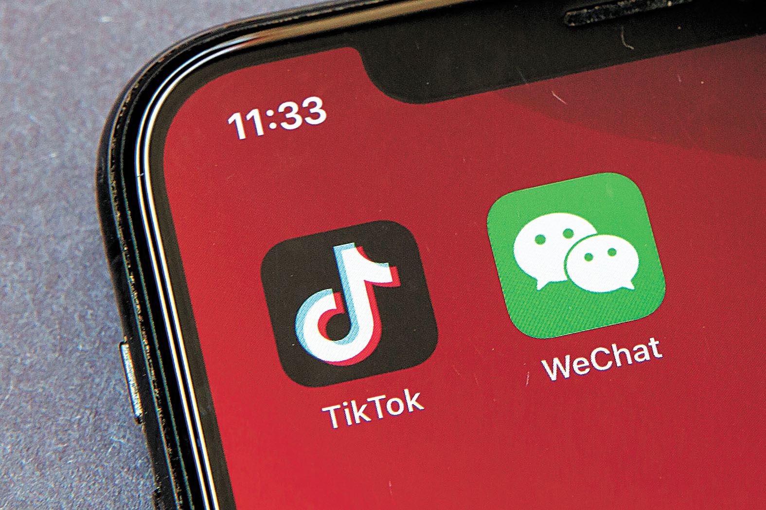 美國商務部將撤銷TikTok和WeChat禁令。美聯社資料圖片