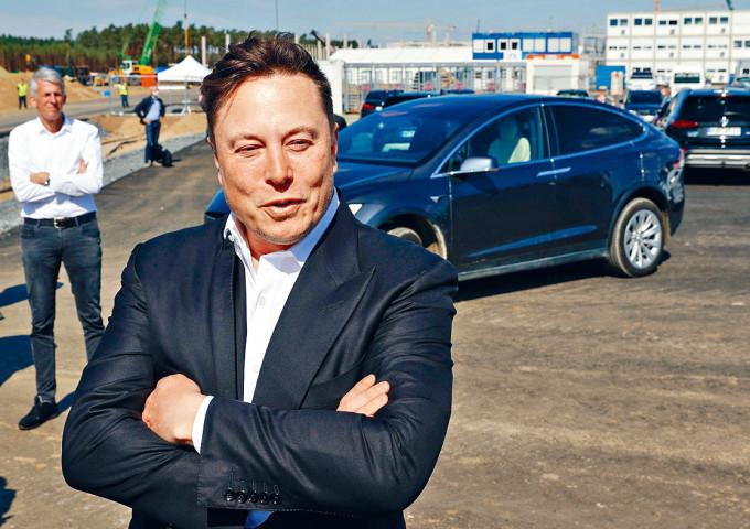 電動車廠Tesla老闆馬斯克