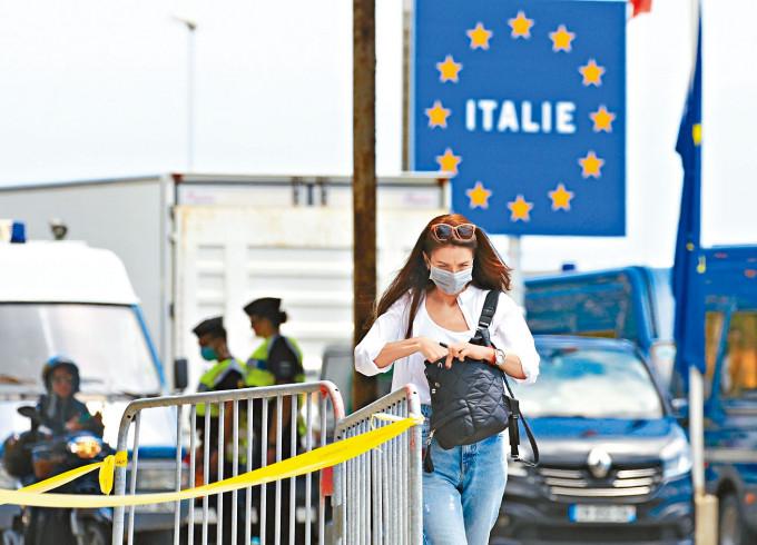 歐盟放寬八個國家及地區的旅遊限制,本港亦包括在內。