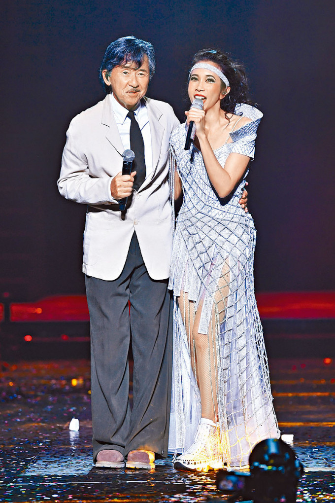 Karen笑言與阿Lam相識多年,卻是第一次合作。