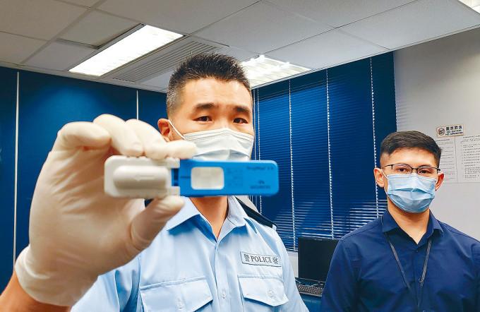 快速口腔液測試儀器令「毒駕」司機無所遁形。