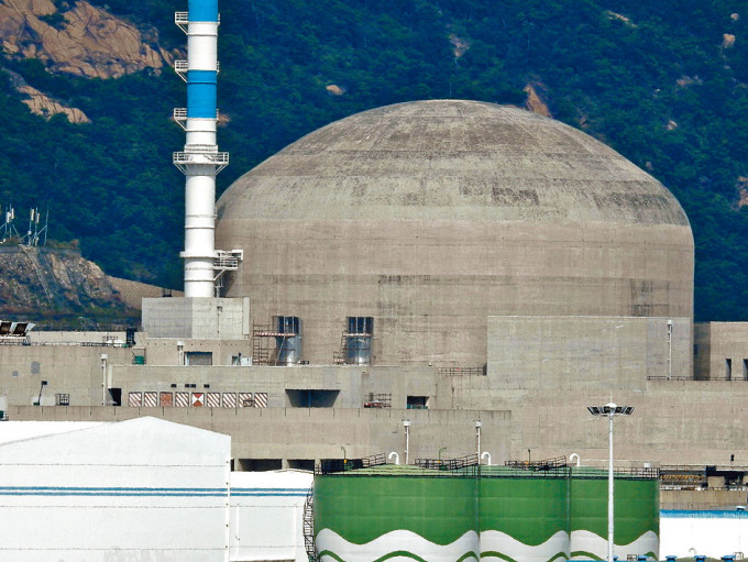 核電廠一號機組出現惰性氣體濃度上升情況。