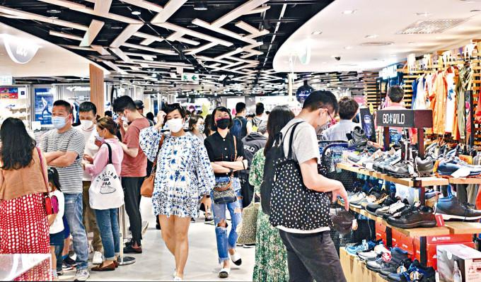 電子消費券下月起登記,有望刺激市民購物意欲。