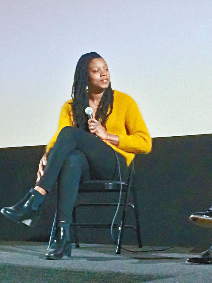 執導《Marvel隊長2》的黑人女導演Nia DaCosta。
