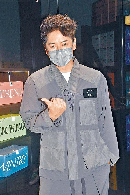 許廷鏗透露在網上與口罩廠商結緣,達成今次合作。