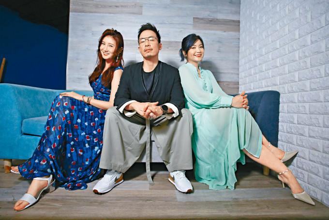 沈殷怡、強尼、練美娟均不擔心參賽者面對壓力。