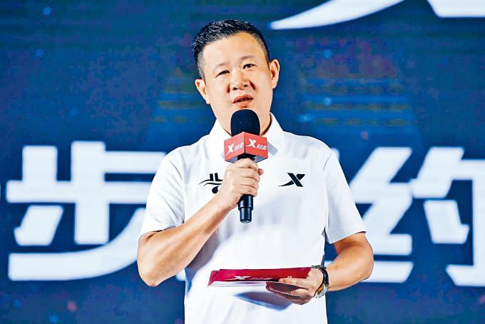 特步主席兼行政總裁丁水波(圖)。