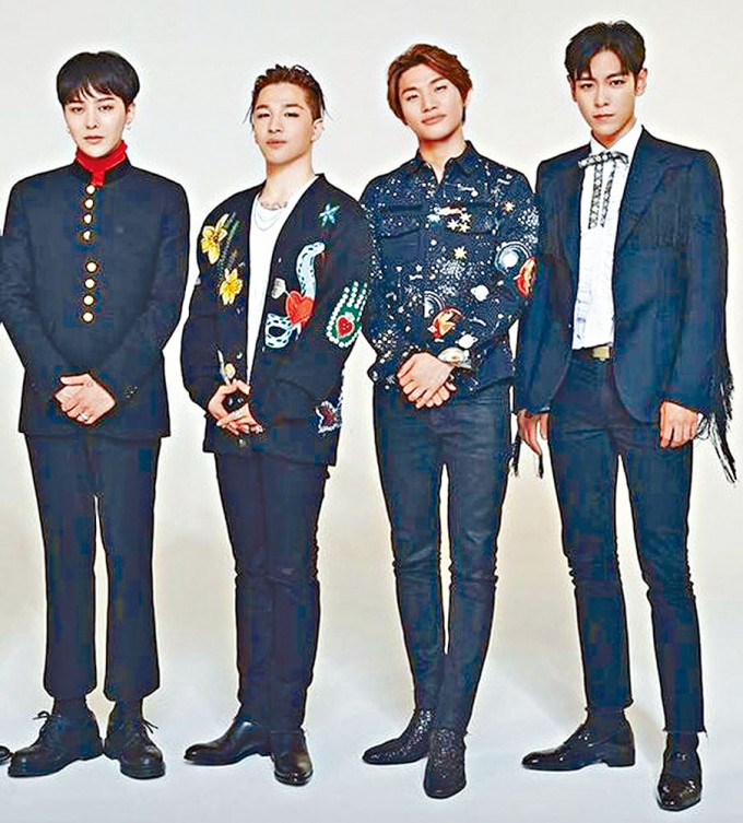 BIGBANG 4名成員已完成續約,並將回歸樂壇。