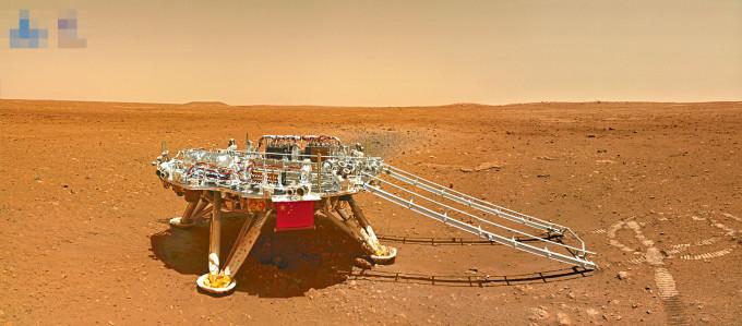 中國首次火星探測任務取得圓滿成功。