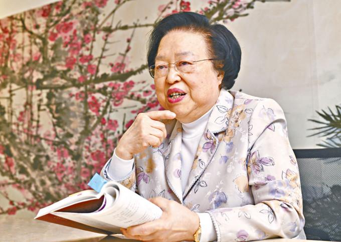 《基本法》委員會副主任譚惠珠強調不論任何一派報紙,都不可違法。